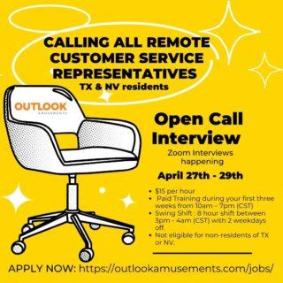 #hotjobs #werehiring #lifeatoutlook #positiveworkplace #applynow #customerservice #opencallinterview
