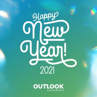 Peace out 2020, let's try this again! #lifeatoutlook #happynewyear2021