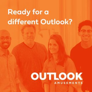 At Outlook Amusements we work very hard at fostering a culture of teamwork, respect, accountability, and -most important – fun! If you're seeking a new opportunity to make a difference, look no further. We're currently hiring in San Antonio and Burbank! Check out our career page for details! #lifeatoutlook #jobs #sanantoniojobs #burbankjobs #remotework