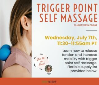 """Have random aches and tension in certain body parts?   This week's seminar would have been a great benefit to you!   We learned how to release tension and increase mobility with trigger point self-massage as well as learned the reasons why certain areas hold more tension than others. This quick how-to seminar was not only filled with useful information but also gave us a """"hands-on"""" experience..... get it?   #lifeatoutlook #massage #marinowellness"""
