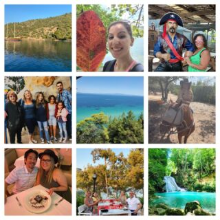 It's officially the last Friday of summer! 😎   Enjoy this collage of the cool adventures our employees had this summer!   #lifeatoutlook #goodbyesummer #summervacation #wfh #photodump