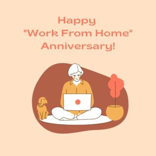 Happy work from home anniversary! Almost a year ago today, we transitioned to an at-home workforce. What we thought would be a few weeks of remote work, has turned into our livelihood. But, even though we've been physically apart for a whole year, we've found many reasons to gather virtually. The silver lining is our two offices became one since we were no longer tied to a physical location. Our slack channel #lifeatoutlook is now the