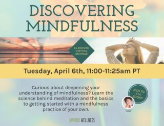 What better way to kick off Stress Awareness Month than a Discovering Mindfulness virtual seminar! Our presenter Ashlee explained the science behind meditation and described the basics of getting started with mindful thinking. This is the first of two seminars that highlight the importance of meditation and the wonders it does for our stress levels, if done correctly. This is one of the many ways Outlook Amusements helps us to maintain inner peace and a positive mindset. #lifeatoutlook #stressawarenessmonth #virtualseminar #discoveringminfulness