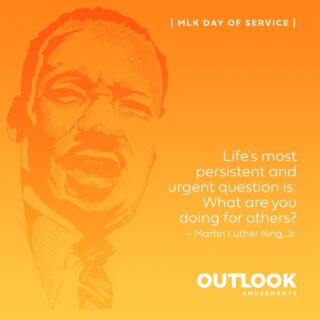 We are taking this time to reflect on how we can continue to be a positive force in each other's lives and grow as a company. #MLKDay is a National Day of Service. While 2020 was a YEAR, 2021 is a time for action. We continue to learn and enrich ourselves as a company by developing our Diversity Statement and enhancing our Diversity and Inclusion Training. These trainings are available for all employees with the goal of making OA a conscious company for all. In what is an OFF day for many, make it on ON day for you! What will you do to enrich yourself and impact your community? #MLKDay #MLDayofService #MLKQuotes #lifeatoutlook