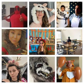 Spirits anyone? Halloween spirt, that is. Here at Outlook, we have a lot of it! This year we managed to stay spooky and safe from home. We held theme day costume contests and our coworkers brought their A game for some prizes! Here are some of our favorites! #lifeatoutlook #spooky #halloween #costumecontest