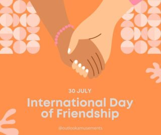 Hey bestie!   Let's celebrate friendship by spreading love and being a positive force in each other's lives. Whether it's your internet, IRL, or work friendships, today is a day to celebrate!   #internationaldayoffriendship #lifeatoutlook #bestie